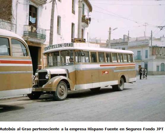 Autobus del grao , propiedad de HIFE, fondo JPT