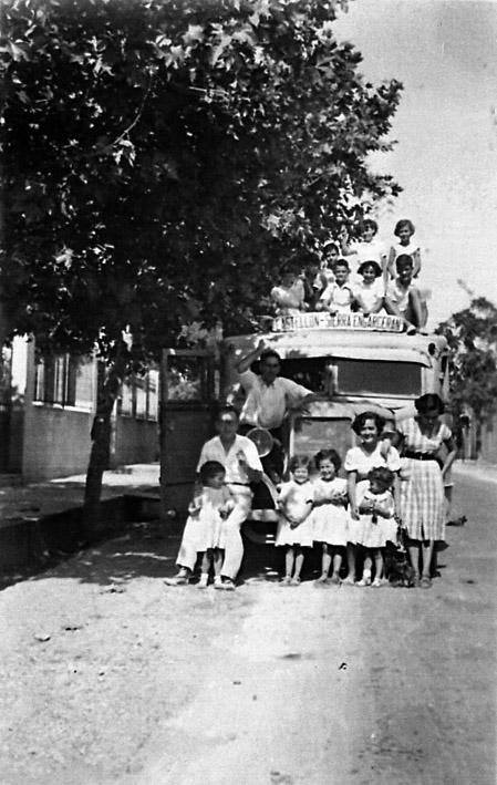 1950 - Autobus Castellón-Sierra Engarcerán-173
