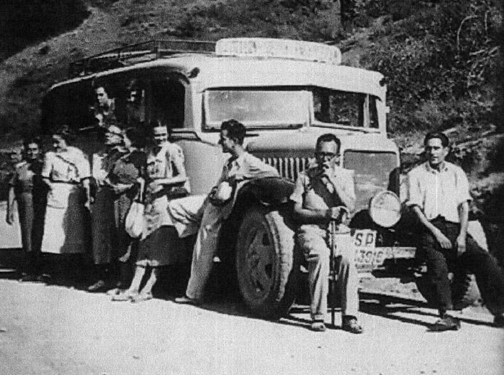 1950 - Autobus Castellón-Sierra Engarcerán-166