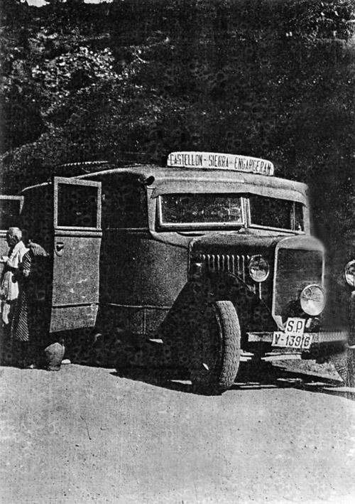 1950 - Autobus Castellón-Sierra Engarcerán-172,1