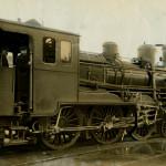 El Duque de Zaragoza, maquinista de los trenes reales