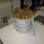 El mísero kilo de paja