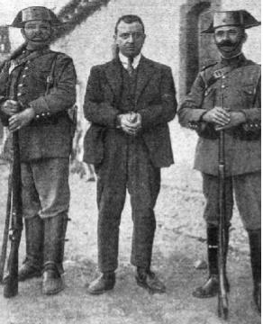 Juan de Dios Piqueras, uno de los detenidos en Pueblo nuevo del Terrible, por la Guardia Civil en abril de 1924